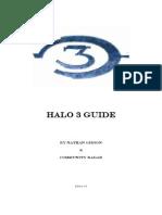 Halo 3 Guide - Edition 1 0