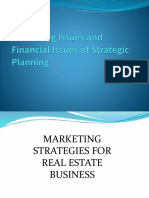 Marketing and Financial Strategies