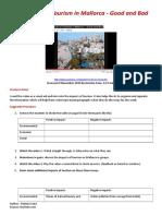 mallorca positive and negative impacts
