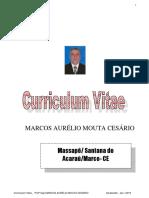 Curriculum Vitae MARCOS CESÁRIO 2019