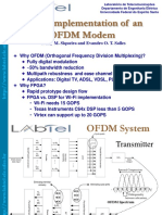 FPGA Implementation of an OFDM Modem (4)