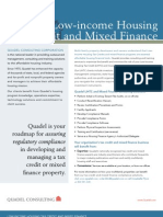 Quadel Low-income Housing Tax Credit and Mixed Finance