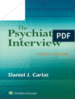 (Books@Ovid.) Carlat, Daniel J. - The Psychiatric Interview-Wolters Kluwer (2017)