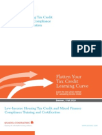 Quadel Low-Income Housing Tax Credit and Mixed Finance Compliance Training and Certification