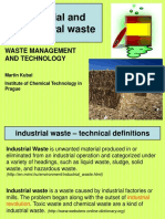 4) industrial + agricultural waste