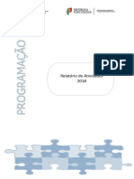 Relatório Atividades DGADR 2018