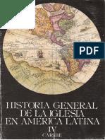 Dussel - Historia General de La Iglesia Tomo 4 (Caribe)