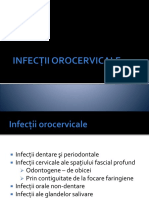 Infecţii Orocervicale