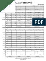 Juego de Tronos - Full Score