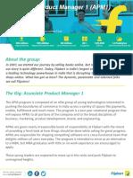 Flipkart APM Profile