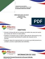 Presentacion La Argentina Suicidio