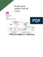Hoja de Ruta para desarrolladores Web