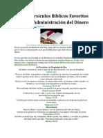 Mis 15 Versículos Bíblicos Favoritos Sobre La Administración del Dinero.docx
