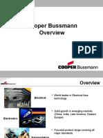 Cooper Bussmann Presentation