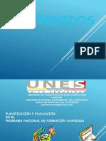 Planiificación y Evaluación en El Pnfa