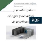 Evaluacion de Costos de Inversion Plata llenadora de Botellones