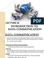 DataCom_Lecture_01_Introduction to Data Communication.pptx