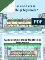 Ro Ds 10 Clubul Morcovilor Cum i Unde Cresc Fructele i Legumele Powerpoint Ver 1 Ver 2