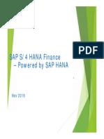 s4 Hana Finance Overview