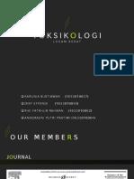 Kelompok 1 Toksikologi Logam Berat