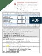 Redang Bay Resort - Redang Package 2019 (1)