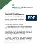 DEFINICÃ•ES E CLASSIFICAÇÕES DOS AGENTES QUíMICOS_Higiene_Industrial