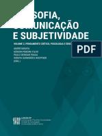 FILOSOFIA, COMUNICAÇÃOE SUBJETIVIDADE - Volume 2