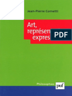 (Philosophies) Jean-Pierre Cometti - Art, Représentation, Expression-Presses Universitaires de France (2002)