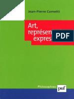 (Philosophies) Jean-Pierre Cometti - Art, Représentation, Expression-Presses Universitaires de France (2002)