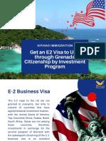 Get an E2 Visa to USA Through Grenada Citizenship by Investment Program (1)