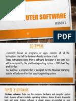 U1 L8 Computer Software