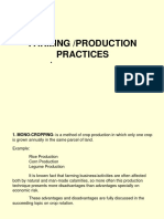 8 Farming Production Practices