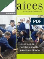 Escuela 45 - Revista Raices - Set2019