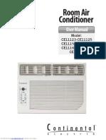 manual Aire acondicionado Continental