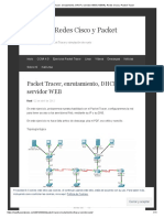 Packet Tracer, Enrutamiento, DHCP y Servidor WEB _ NEWfly, Redes Cisco y Packet Tracer