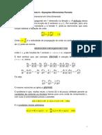 Equação de Onda Transversal Em Uma Dimensão