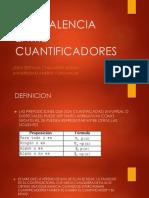Equivalencia Entre Cuantificadores