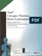 Cirugía plástica iberolatinoamericana