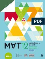 Manual Mat A 12º, Vol 2 Texto