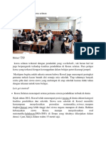 Fakta Pendidikan Di Korea Selatan