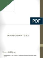 disorders of eyelids