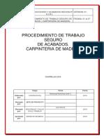 Procedimiento de Acabados (Carpinteria de Madera) Ok
