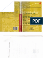 História Social Da Linguagem. Peter Burke e Roy Porter