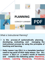 Enhancement Lecture on Lesson Planning