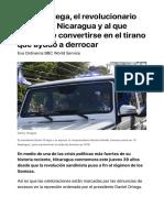Daniel Ortega, el revolucionario que liberó Nicaragua y al que acusan de convert