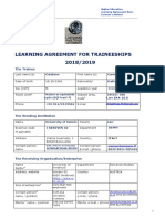 Learning Agreement for Traineeships-final