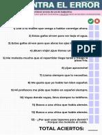 Subjuntivo en español
