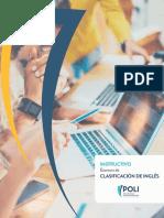 Insctructivo de Ingles - Presentar examen.pdf