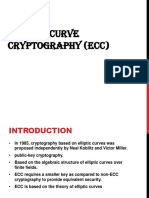 Ellipitic Curve Cryptography