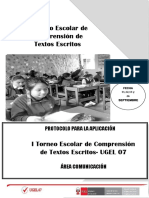 Protocolo Del i Torneo de Compresnion de Textos Ofi